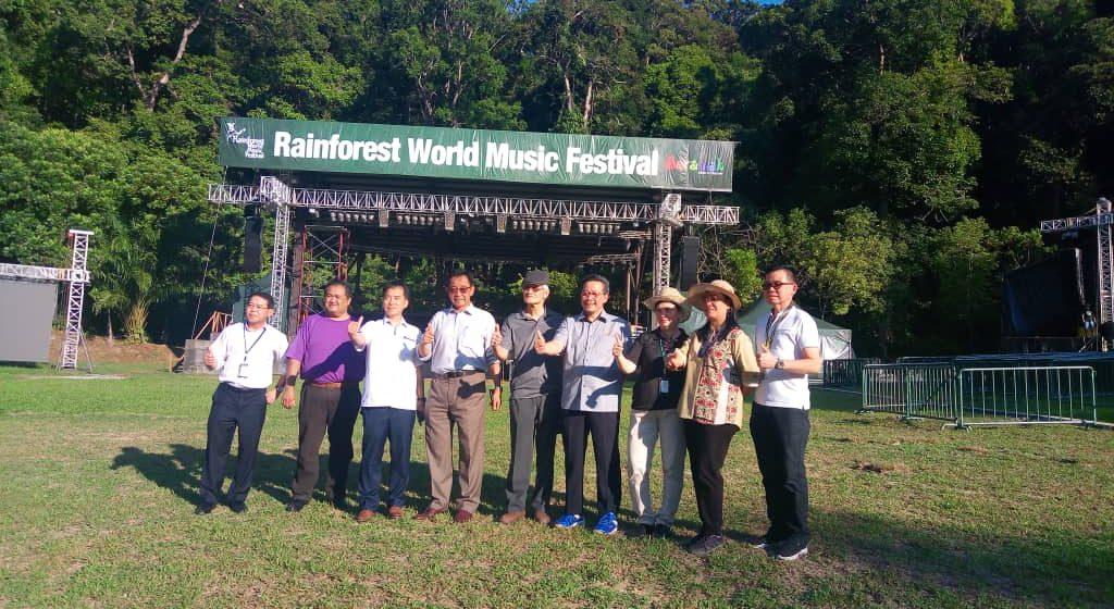 Kampung Budaya Sarawak dinaik taraf, bersiap sedia untuk RWMF 2019