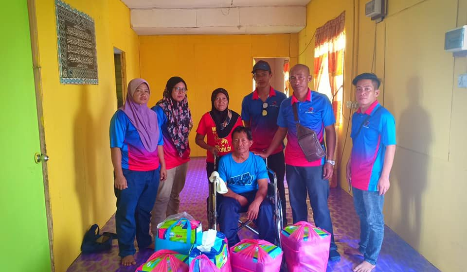 My Team Prihatin terus aktif bantu masyarakat