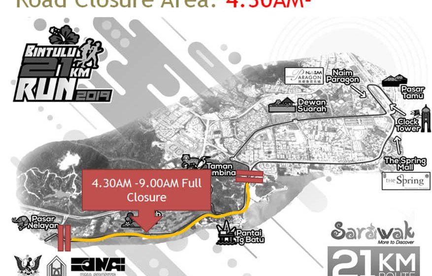 Jalan menuju ke Pasar Nelayan ABF sehingga Taman Tumbina akan ditutup pada 21 Julai