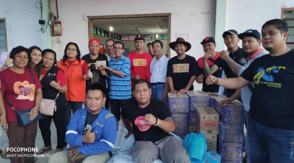 Pedas besaup mantu Rumah Lepang