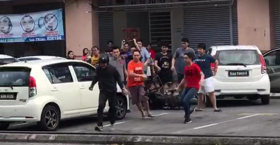 Peragut dibelasah sebelum diserahkan kepada polis