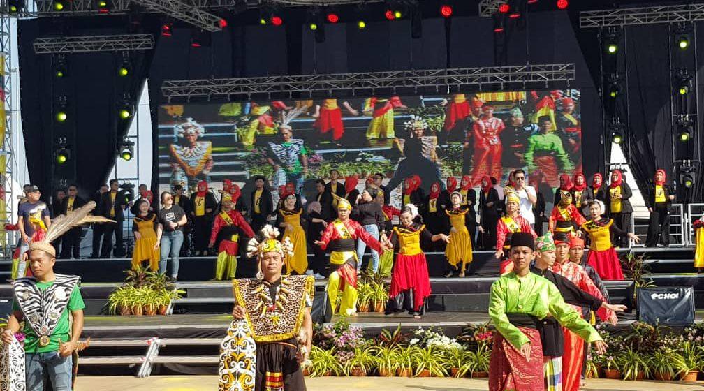 Dianggarkan 10,000 akan meriahkan sambutan Hari Sarawak 2019 Isnin ini