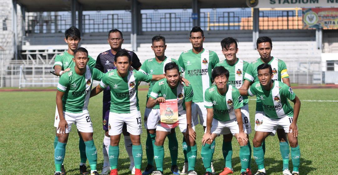 Kuching FA menang 4-3