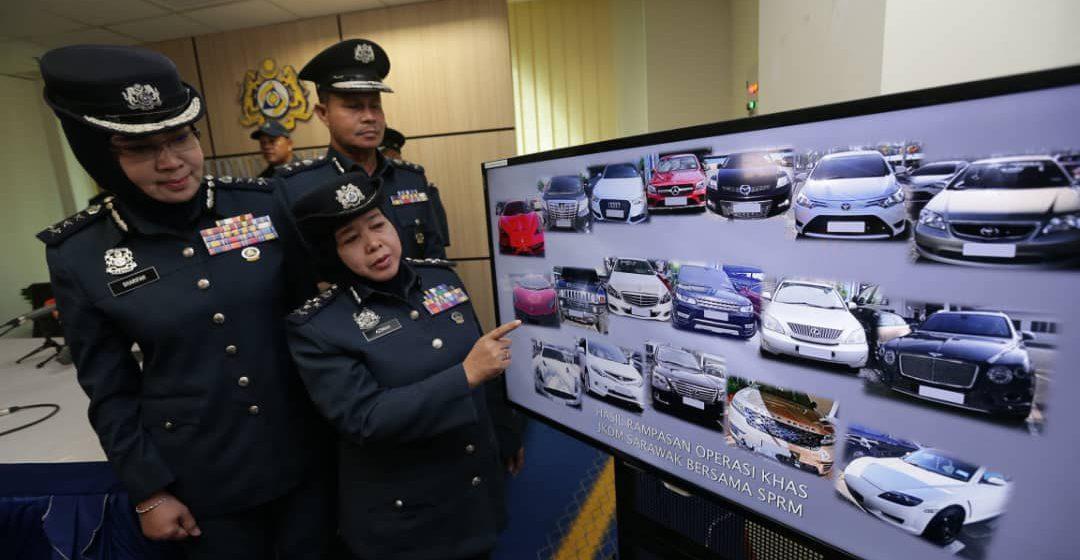 18 kenderaan mewah dirampas, tidak bayar duti import