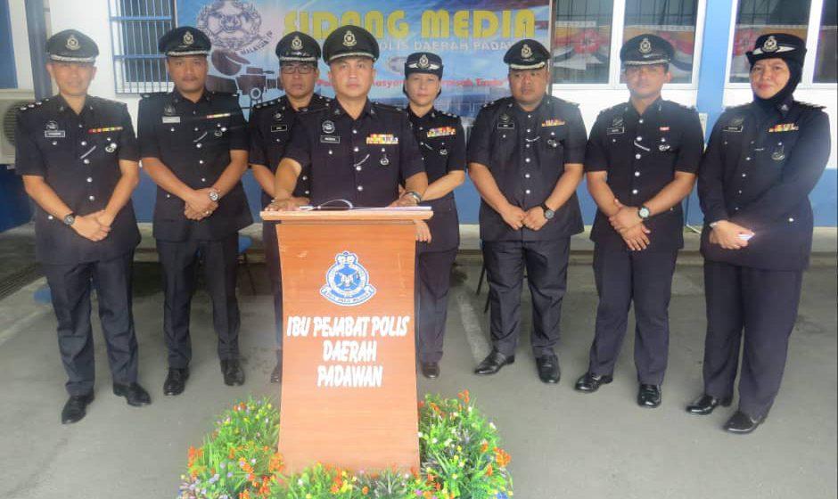47 ditahan terlibat dadah di Padawan