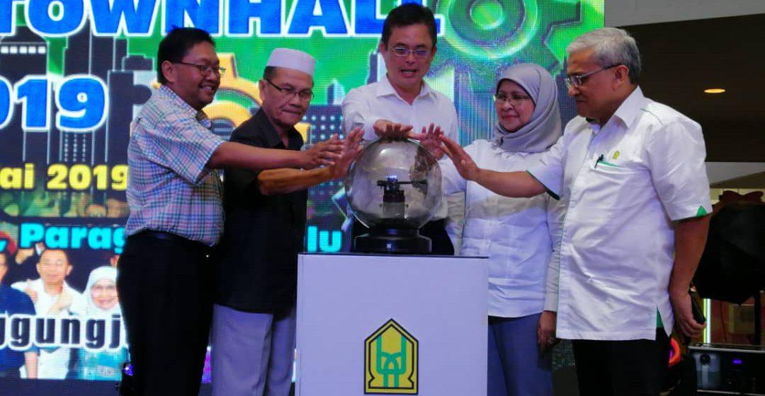 Bintulu Town Hall pendekatan terbaik terima cadangan pembangunan