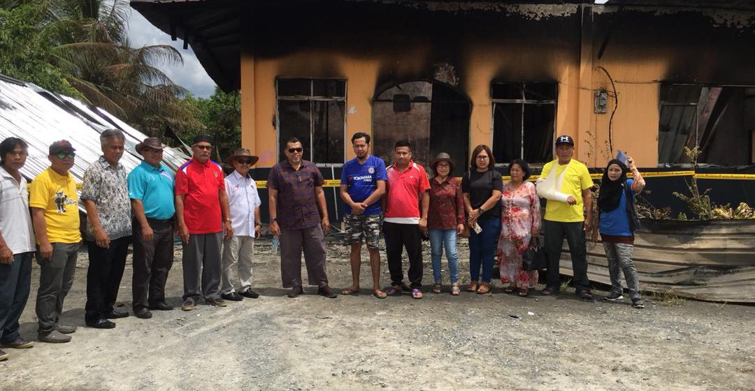 Mangsa kebakaran Kampung Belading terima bantuan