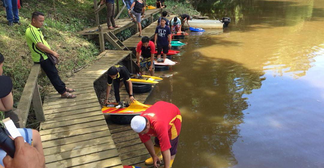 Telok Brunei pusat pertemuan peminat sukan air