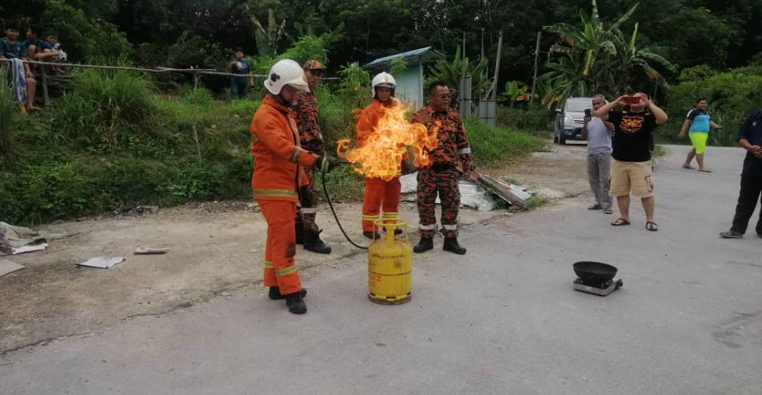 Waspada bahaya kebakaran rumah panjang