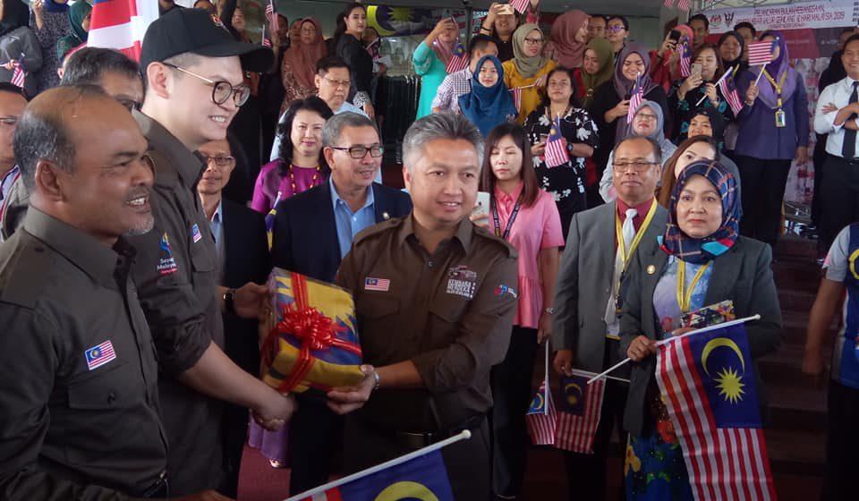 Kembara Merdeka Jalur Gemilangke seluruh Sarawak sudah bermula