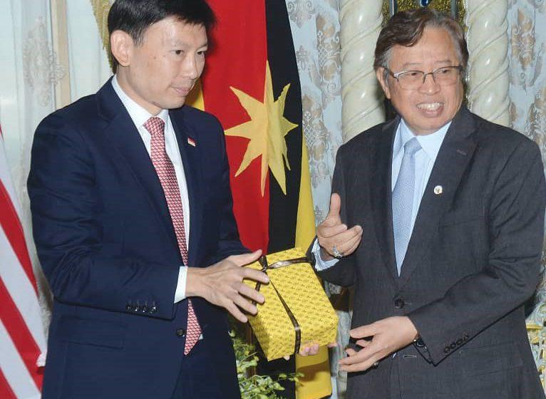 Singapura dan Sarawak bekerjasama pertingkat ekonomi