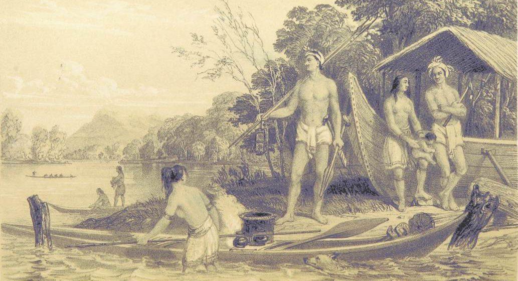 Sosioekonomi Lundu Era 1800-an