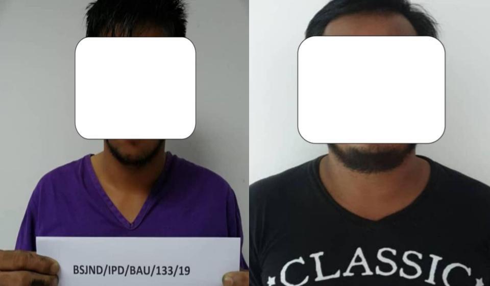 Dua lelaki positif dadah dicekup di Kampung Lidah Tanah