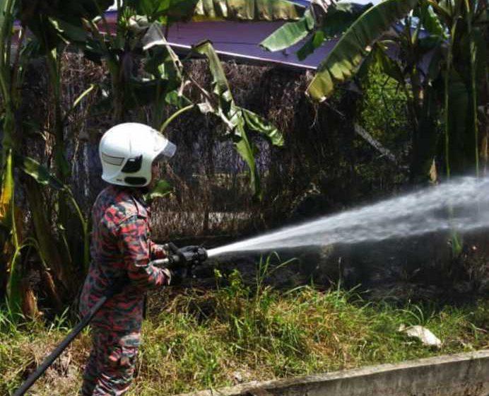 Bomba puji tindakan pantas penduduk Kampung Seberang