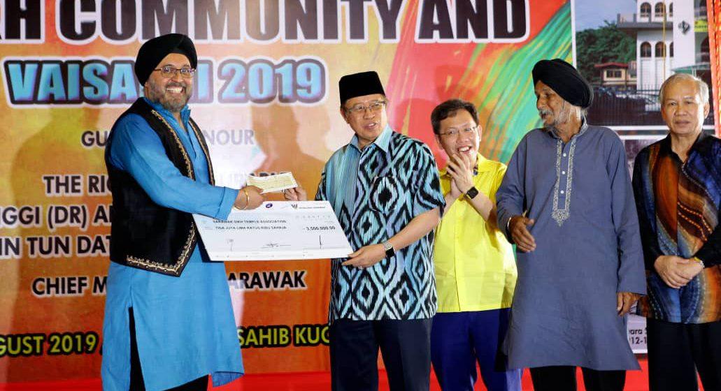 Komuniti Sikh nerima agih RM3.5 juta