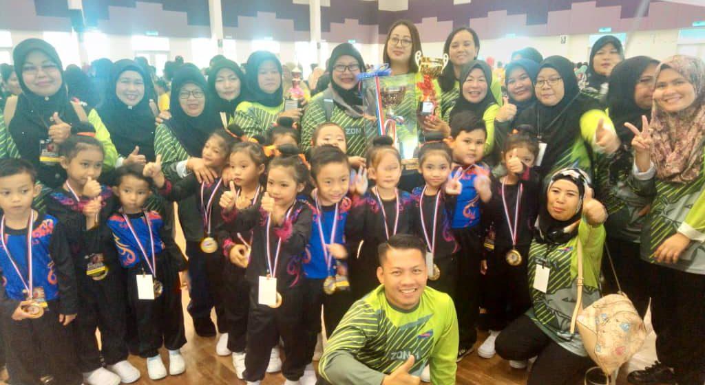 Tabika dari empat kawasan, Zon 1 wakili Sarawak di Hari Tabika Kemas peringkat kebangsaan