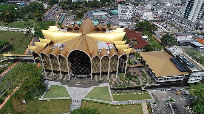 Muzium Sarawak pemadu besai di Malaysia