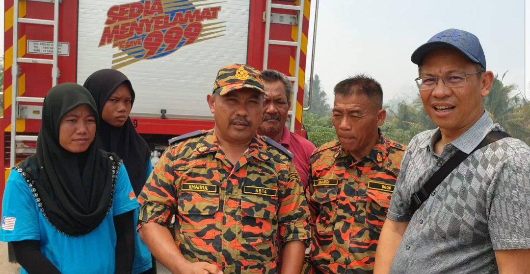 Abdullah batal urusan rasmi, tinjau lokasi kebakaran hutan di Sedi