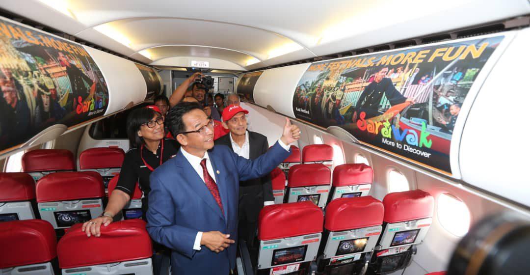 AirAsia dipilih ngemujur Kimpin Nemuai Ke S'wak