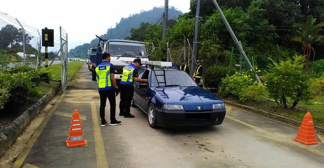 Pengguna jalan raya positif dadah ditahan