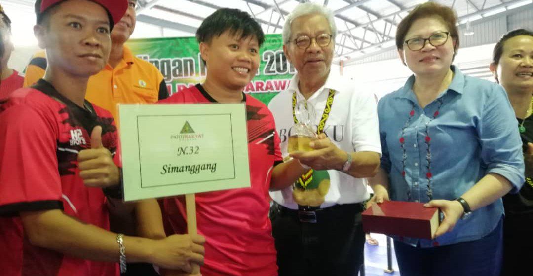 Pasukan N.32 Simanggang juara Futsal 2019 Piala Pusingan Dato' Sri Doris Sophia Brodie