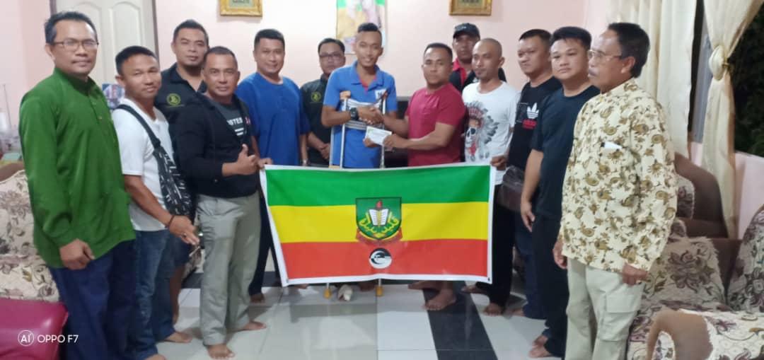 PEKIDA Limbang buat lawatan terhadap mangsa kemalangan di Kampung Limpaki