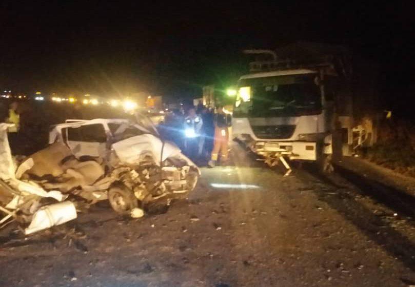 Empat maut, dua cedera akibat kereta bertembung lori