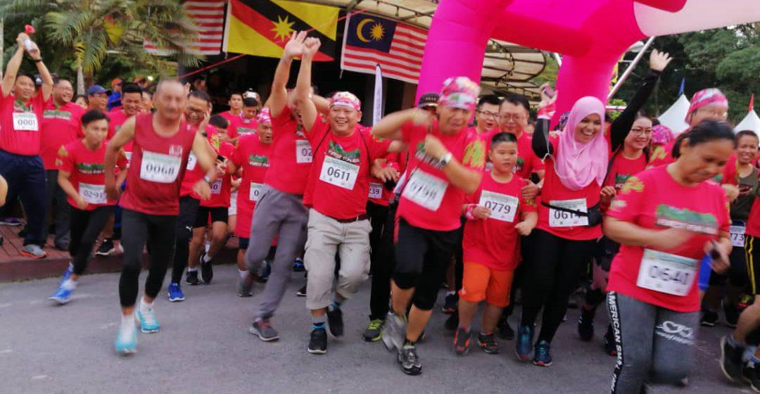 800 sertai Forest Fun Run 2019 Bintulu