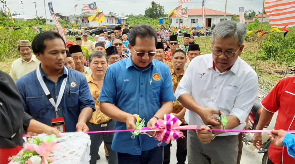 Dewan Sekudut, hadiah Kerajaan GPS untuk Kampung Baru Daro