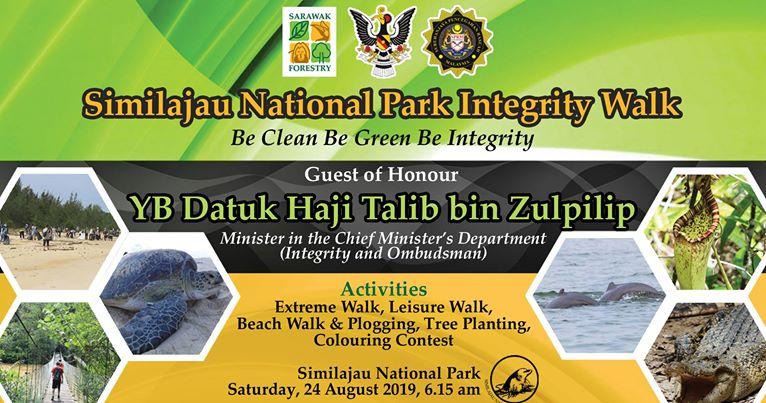 500 peserta bakal sertai Similajau National Park Integrity Walk