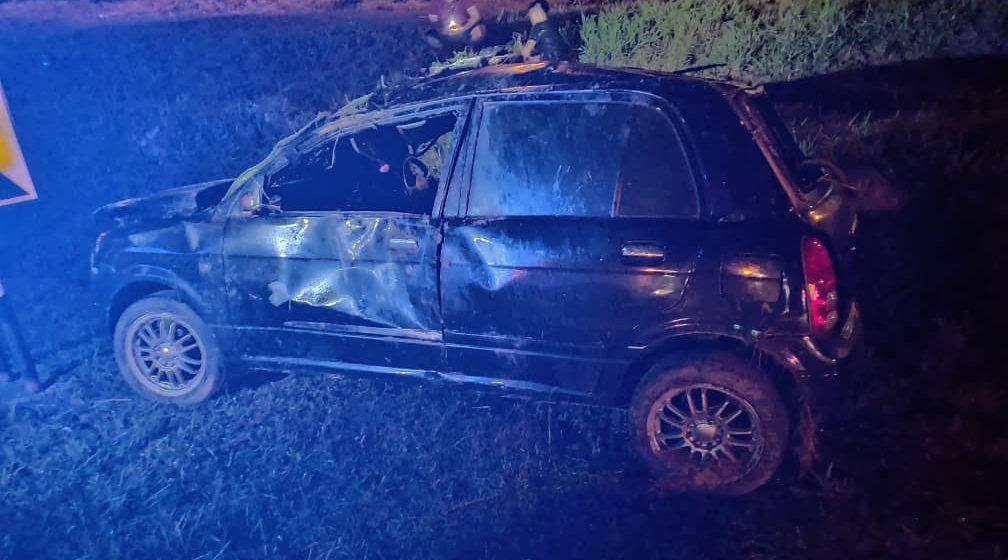 Kereta terbabas di Samarahan babitkan dua mangsa, seorang maut, cedera