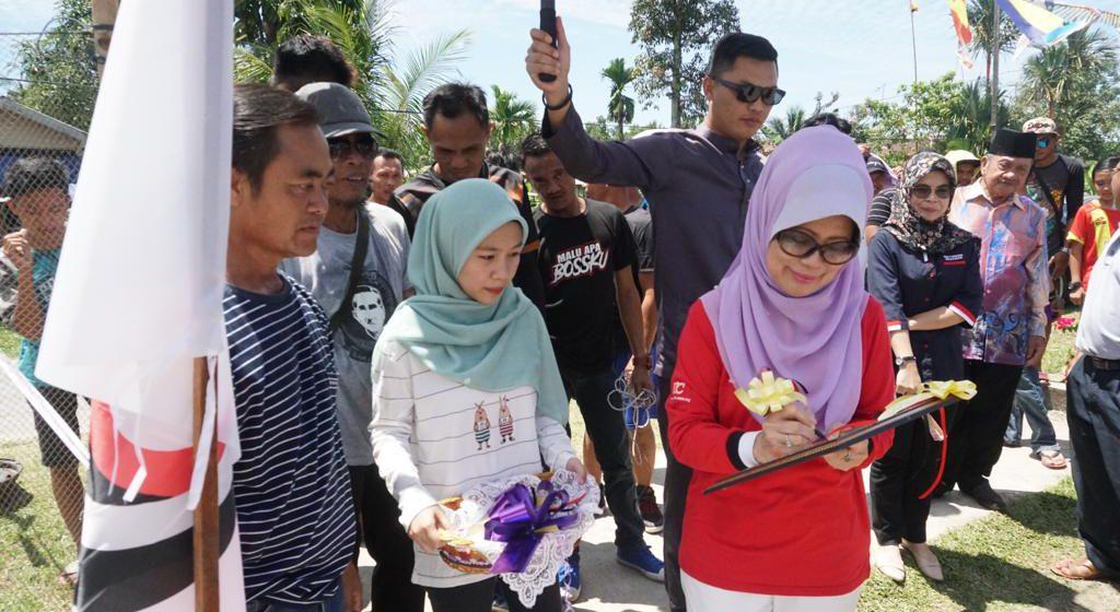 Pertandingan Gasing Terbuka Daerah Oya sempena Hari Malaysia