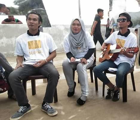 D'akasya Busker julang nama Kampung Selalang