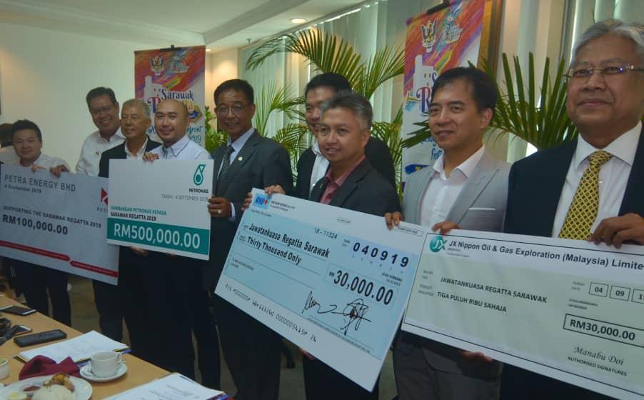 Sapa menggi gelar Raja Sungai Regata Sarawak 2019?