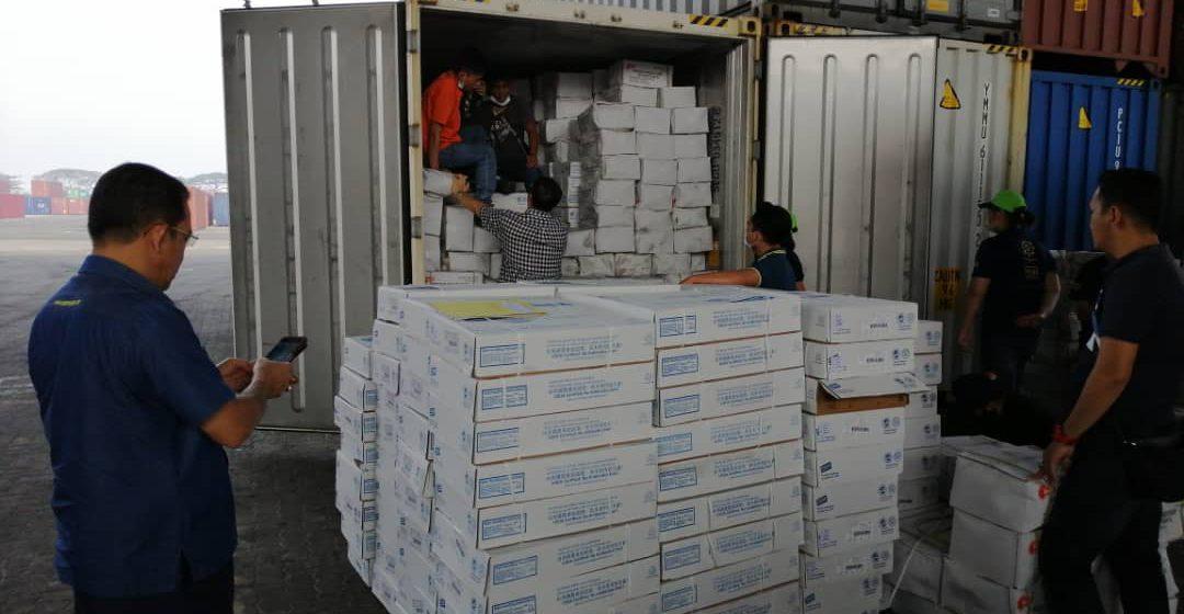 Produk ayam import tidak sah bernilai RM151,040 berjaya dirampas