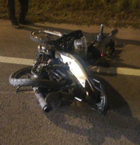 Penunggang motosikal maut dalam kemalangan di Jalan Kuching-Serian