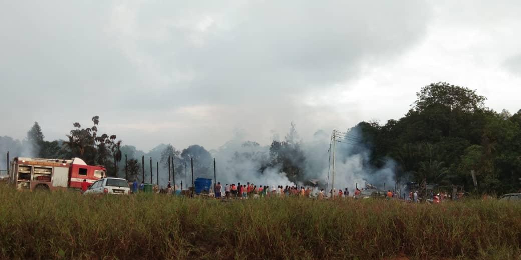 Rumah Budin musnah terbakar