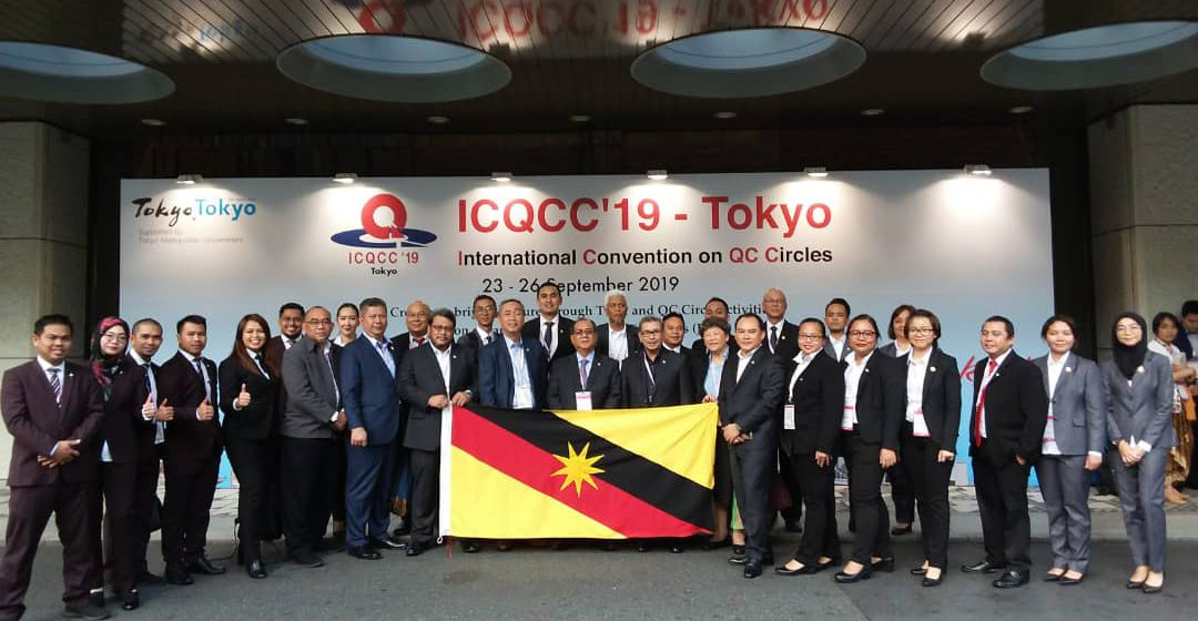Perkhidmatan Awam Sarawak raih empat anugerah emas di Jepun