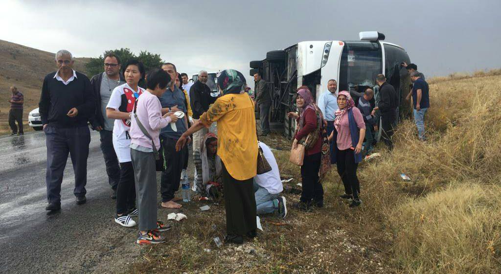 Seorang maut, 10 lagi rakyat Malaysia cedera dalam kemalangan bas di Turki