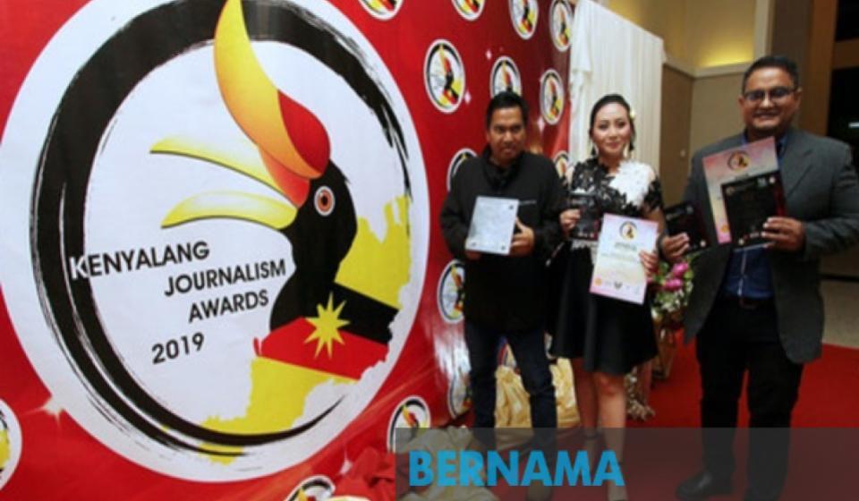 BERNAMA bolot empat hadiah pada Anugerah Kewartawanan Kenyalang