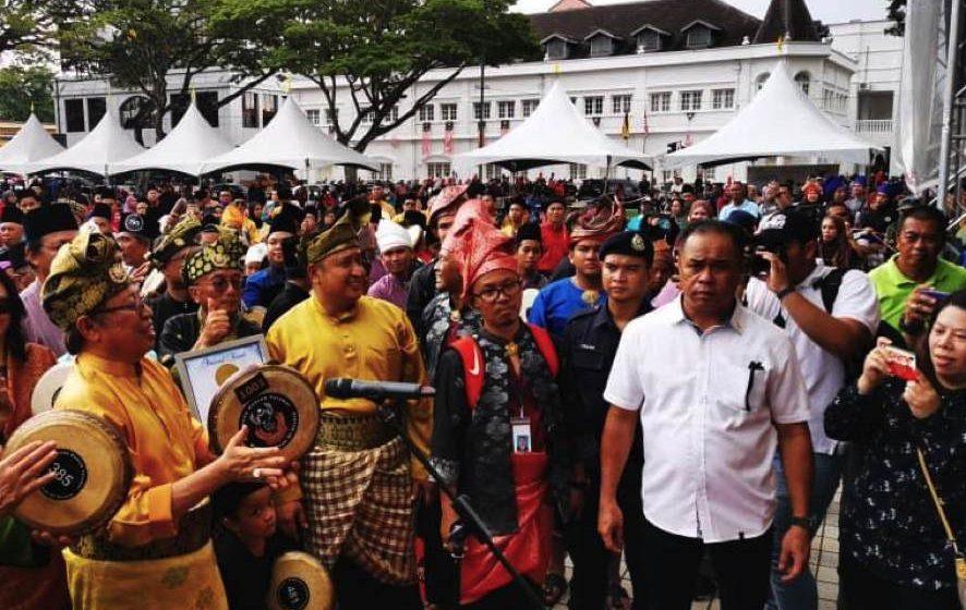 Sarawak cipta rekod MBOR, pemain hadrah teramai
