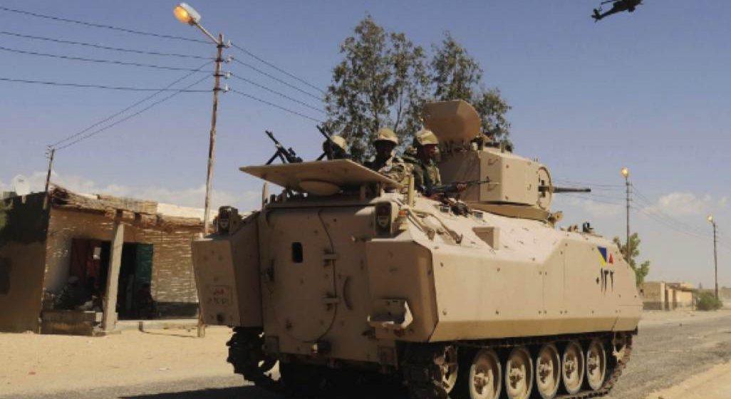 13 pemberontak mati di Sinai