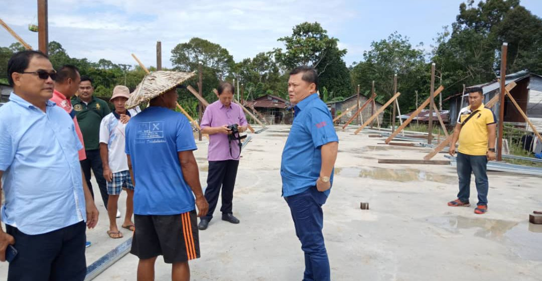Huang hulur peruntukan khas bina semula Rumah Entagau
