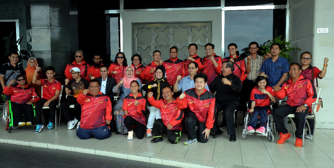 38 atlit OKU Sarawak dipilih ke Filipina