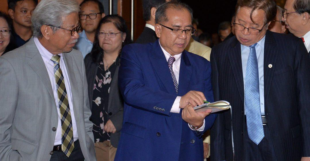 Jaul dahului senarai penerima pingat kebesaran sempena Hari Jadi Ke-83 Yang Dipertua Negeri di Miri