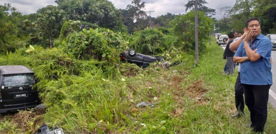 Wakil rakyat turun jenguk mangsa kemalangan