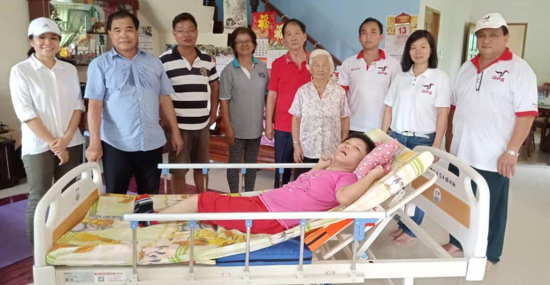 Sumbangan Huang ceriakan pesakit terlantar