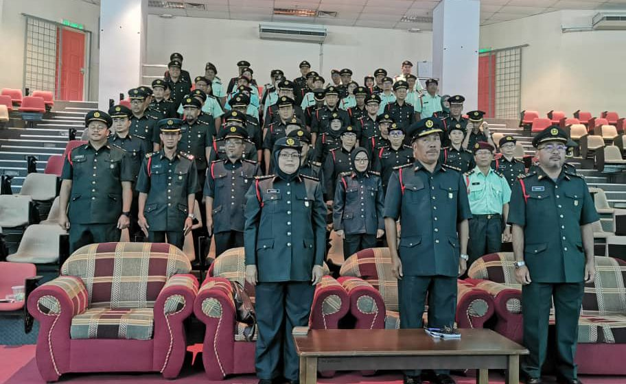 65 individu berjaya terima tauliah pegawai KRS di Mukah