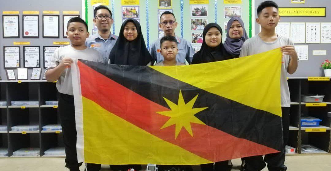 SK Mukah wakil tunggal Sarawak dalam Pertandingan International Robot Olympics Malaysia 2019