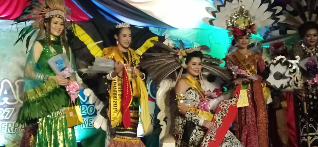 Dorika James dimahkotakan Ratu Etnik Pesta Limau